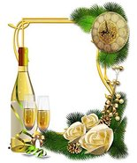 New Year Champagne & Roses Stationery Printer Paper 26 Sheets [Office Pr... - $9.89