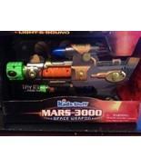 MARS 3000 KIDS STUFF NEW NIB SPACE WEAPON TOY GUN LIGHT SOUND VIBRATION ... - $26.48 CAD