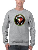Portuguese Pride Men's Crewneck Sweatshirt Country Pride Sweater - $22.00