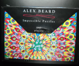 Great American Puzzle Factory 2009 Peacock Alex Beard Impossbile Puzzle ... - $12.99