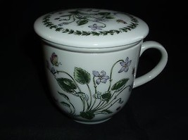Porcelain Tea Cup Steeper All In One Floral Design - $7.91