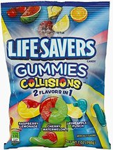 Life Savers, Gummies, Coliisions, 7oz Bag (Pack of 6) - $22.49