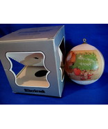 Vintage CHRISTMAS Ornament SPECIAL TEACHER 1987 by Alderbrook Collector ... - $7.95