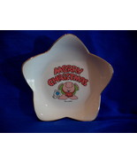 ZIGGY CHRISTMAS Candy Dish Plate TOM WILSON Vintage Collector Collectible - $9.95