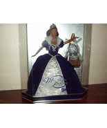 2000 Special MILLENNIUM Black/African American BARBIE w/GORGEOUS Gown/Cr... - $71.00