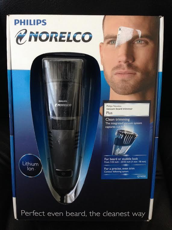 philips norelco vacuum beard trimmer plus model qt4050. Black Bedroom Furniture Sets. Home Design Ideas