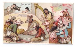 Arbuckle Coffee Trade Card 1893 Mexico Sports #30 Music Masked Balls - $6.99
