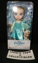 Disney Frozen 2 Petite Elsa doll toy action figure with comb shoes Jakks... - $15.18