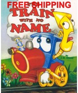 Train With No Nsme Personalized Childrens Book ... - $13.95