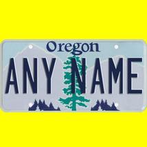 1/43-1/5 scale custom license plates any brand RC/model car - Oregon tag - $11.00
