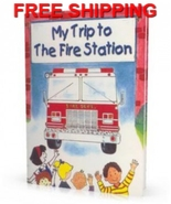 Trip to The Fire Station Personalized Childrens... - $13.95