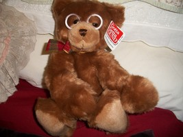 "14"" Gund Teddy Bear ""Booker"" - $40.00"