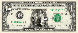 CRYME TYME Wrestler WWE on REAL Dollar Bill Cash Money Bank Note Currenc... - $4.44