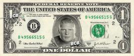BROCK LESNER Wrestler WWE on REAL Dollar Bill Cash Money Bank Note Currency - $5.55