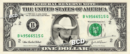 Alan Jackson Country Singer On Real Dollar Bill Cash Money Bank Note - $4.44