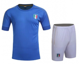 Italy Italia Blue National Home Soccer Jersey & Shorts Uniform Adult Men's - €29,72 EUR