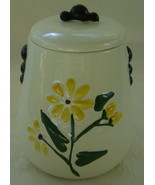 American Bisque Daisy Cookie Jar Very Good Condition - $45.00