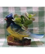 Vintage 1950's BLUE JAY Planter // Figural Bird Planter - $14.00