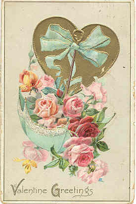 Primary image for Valentine Greetings Tuck and Sons Vintage 1911 Post Card