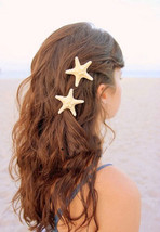 Natural Sand Color Starfish Hair Clip.1 piece N... - $11.50