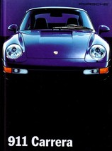 1995 Porsche 911 hardcover BOOK sales brochure US CARRERA 4 993 - $20.00