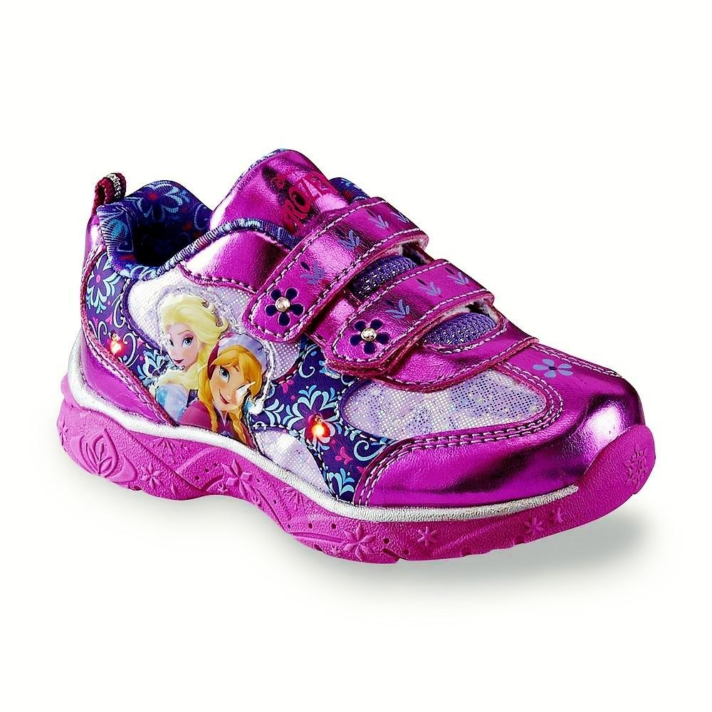 disney s frozen light up sneakers athletic shoes nwt sizes