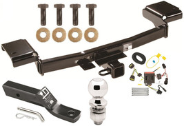 COMPLETE TRAILER HITCH PACKAGE W/ WIRING KIT FOR 2011-2016 KIA SPORTAGE ... - $245.47