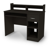 South Shore Axess Collection Computer Desk Student Office Workstation Bl... - $148.47