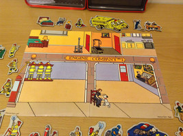 Magnetic Rescue 911 Fire Fighters Police Sticker Fun Game Toy Lee Publications image 6
