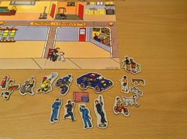 Magnetic Rescue 911 Fire Fighters Police Sticker Fun Game Toy Lee Publications image 8
