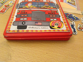 Magnetic Rescue 911 Fire Fighters Police Sticker Fun Game Toy Lee Publications image 10