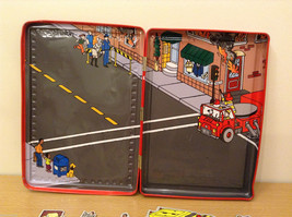 Magnetic Rescue 911 Fire Fighters Police Sticker Fun Game Toy Lee Publications image 5