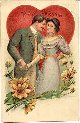 Primary image for To My Valentine Vintage 1908 Post Card