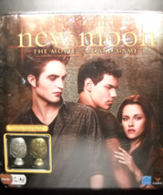 New Moon The Movie Board Game 2009 Cardinal Industries Factory Sealed Metal Box - $8.99