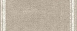 "27ct Pyramid Natural/White banding 7.8""w x 36"" 100% linen (1yd) Mill Hill - $30.60"
