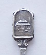 Collector Souvenir Spoon Sweden Angelholm Old Town Hall Tourist Office E... - $14.99