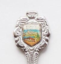 Collector Souvenir Spoon Italy Santa Croce Del Lago Lake View Villa - $14.99