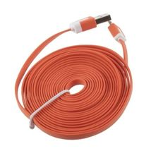 3m Orange Micro USB Data Sync Charger Cable For Samsung Galaxy Note 1 2 ... - $7.99