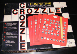1981 Crozzle Crossword Game by Cadaco - $25.00