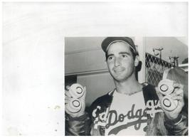 Sandy Koufax Los Angeles Dodgers Four No-Hitters Vintage 8X10 BW Basebal... - $6.99