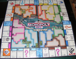 2009 Monopoly City 3D Game Board - $12.00