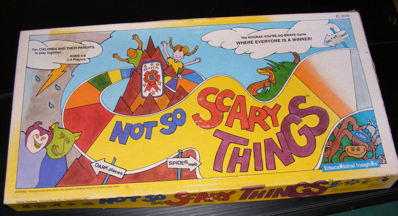 1989 Not So Scary Things Board Game and 47 similar items