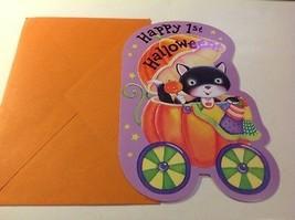 "HALLOWEEN "" HAPPY 1ST HALLOWEEN "" AMERICAN GREETING CARD - $5.90"