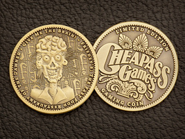 Give Me The Brain Collector Game Token - $6.00