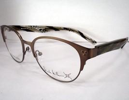 Nicole Miller Eyeglass Frames Spot On Olive Brown Women - $77.80