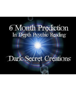 6 Month Prediction, In Depth Psychic R  eading,   6 Month Reading Sent V... - $20.00
