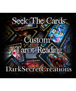 Custom Tarot Reading, Sent Via PDF, In Depth Ps... - $5.00
