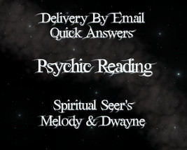 Fast Answers ~ Psychic Reading Via Email PDF~ S... - $5.00