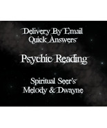 Fast Answers ~ Psychic Reading Via Email PDF~ Same Day Psychic Reading - $5.00
