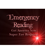 Emergency Psychic Reading Via PDF Email, Super Fast Response - $5.00
